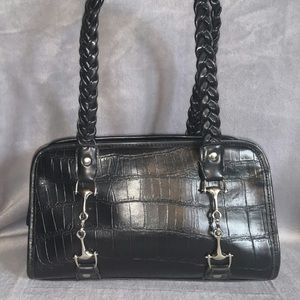 Nice soft black bag, minimal wear looks new
